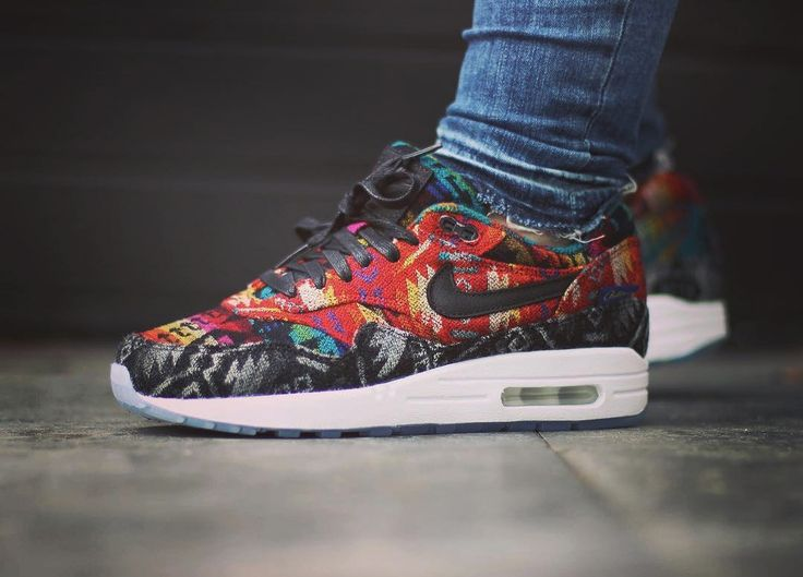 Nike ID Air Max 1 Pendleton (by shoenica)