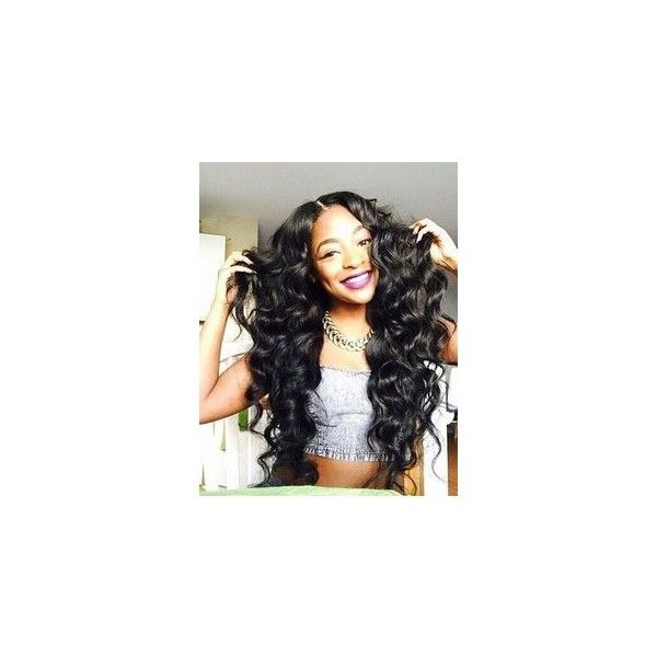 Straight Weave Hairstyles ❤ liked on Polyvore featuring hair