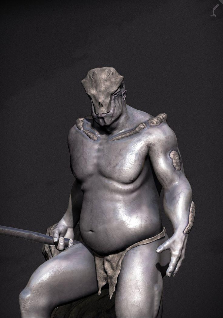 Creature, Arkadiusz Woźniak on ArtStation at https://www.artstation.com/artwork/creature-51abd7c5-fa49-4bff-ad0b-1573fa2a760e