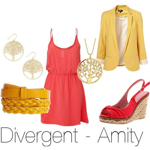 Amity from Divergent by Veronica Roth. Wow I guess I'm not the only one who read those books.