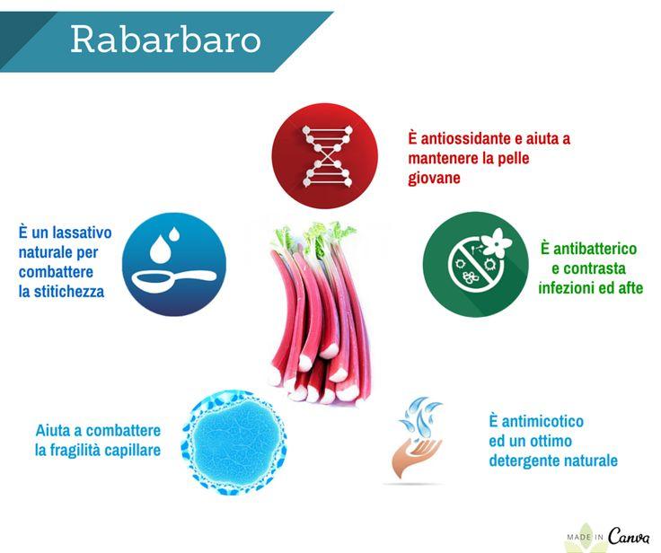 #le #5 #proprietà #del #Rabarbaro  Depurazione e Regolarità, le due parole chiave per sentirsi bene. Il Rabarbaro è ideale per entrambi gli obiettivi #depuratierestainforma #regolarità
