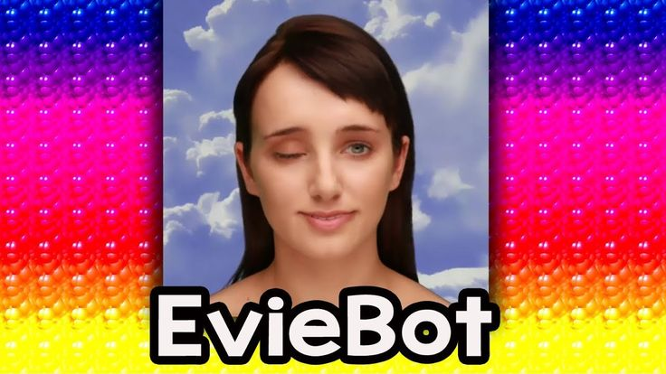 EVIEBOT -- CREEPY TALKING A.I. GIRL -- Cleverbot Evie Reaction