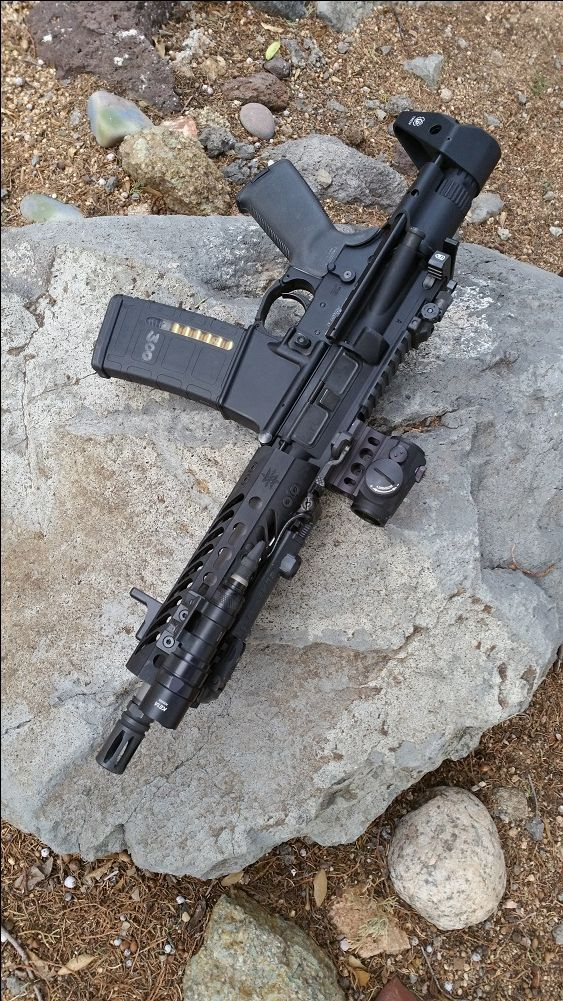 "SUAREZ M4 PISTOL ""RENEGADE"" UPPER - 8.5"" BARREL - 300 BLACKOUT"