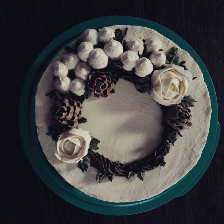 кремовые цветы oduvanchik_sofi масляный крем малазийский торт