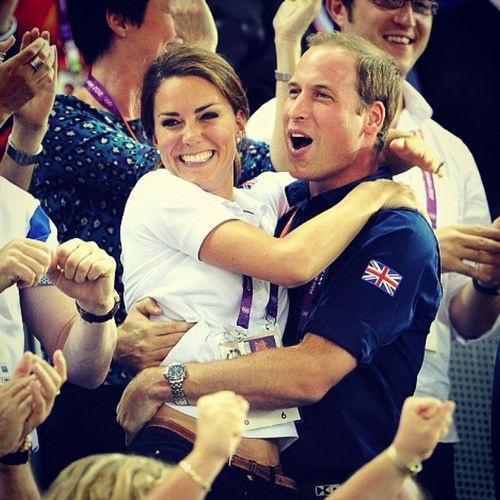 discovered on imgfave.com: Princewilliam, Olympic, Royals, Royal Family, Katemiddleton, Kate Middleton, Prince William, Photo, People