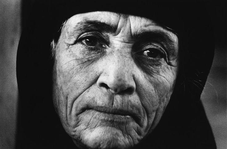Jean Mohr Portrait of a Greek Refugee, Larnaca,Cyprus, 1976