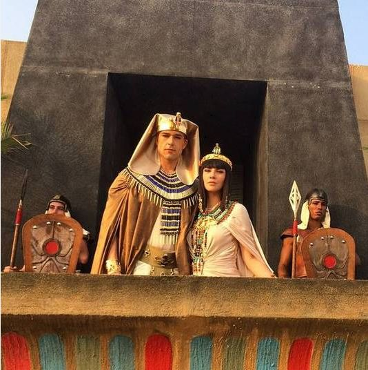 Pharaoh and Nefertari