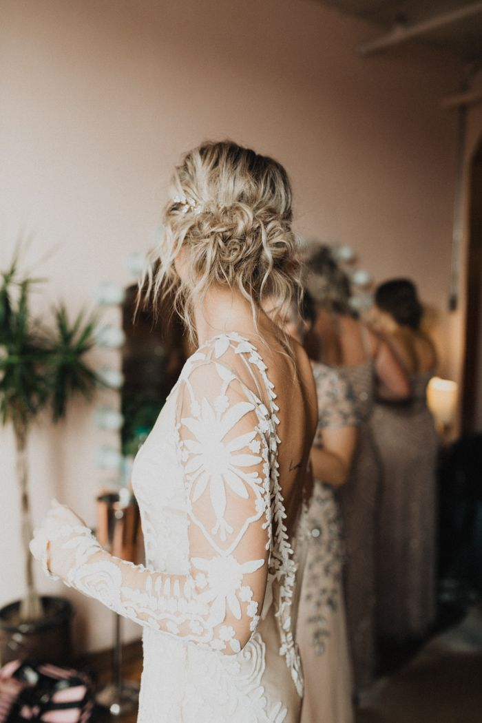 Boho Luxe Downtown Kansas City Wedding At The Bride And The Bauer