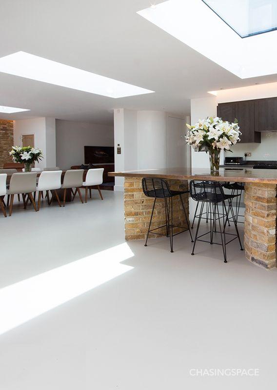 Open Plan Flooring Flooring Inspiration Flooring Polished Concrete Tiles