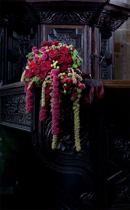 Hanging Amaranthus Bouquet Flowers To Hold Cascading Bouquets Pinterest