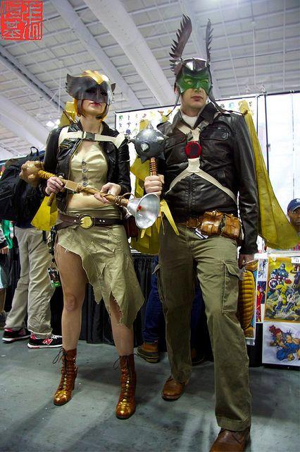 Hawkgirl and Hawkman   NYCC 2013