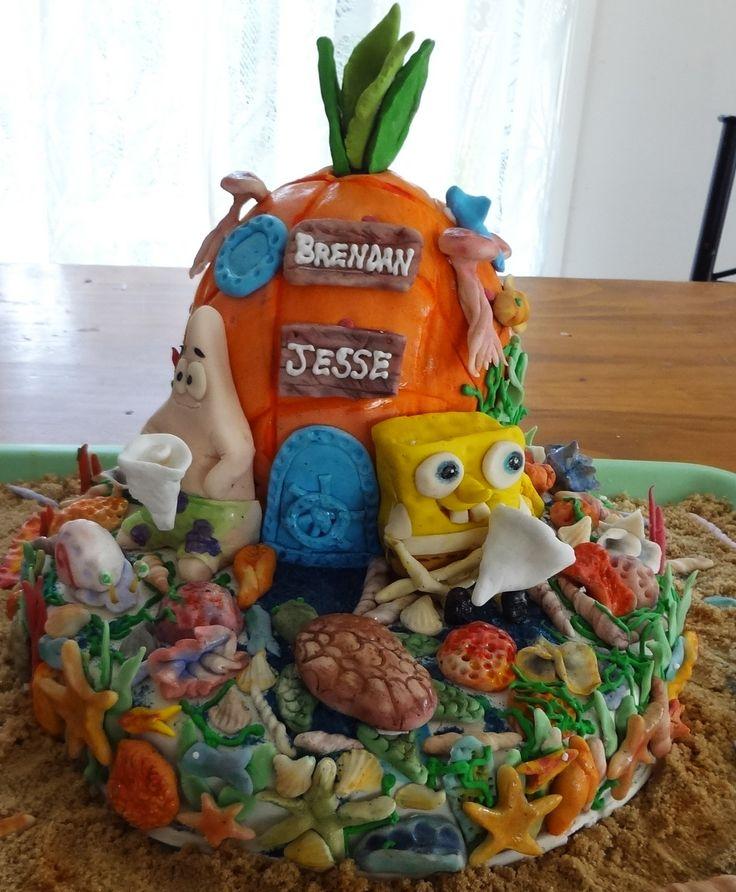 Spongebob and Patrick Cake by Novy