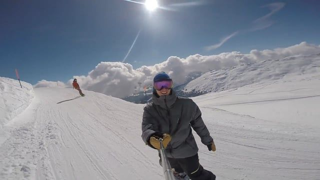 Reminiscin' my first trip to LAAX in Switzerland filmed with GoPro. Big up to Pati, Zuza, Magda, Wojtek from the crew. Marika, Mati & Rafal for sharing the apartment. Greetings DJ Romi, Ania & Sara. Big props to Łukasz for training sessions. Shout out to to Florian and his CRAY band (https://www.facebook.com/crayband)  for the album and concert as a good energy on the very last day of ridin'.   Til' next time Ladies & Gentlemen!
