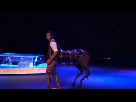 Best centaur costume mechanics I've ever seen.