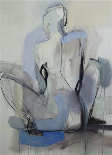 Kate Long *idea (fondo azul marino líneas doradas y usar foto guardada en pin)