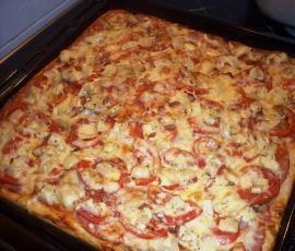 Recept Neapolská pizza s rajčaty a parmezánem od jijina - Recept z kategorie Hlavní jídla - ostatní