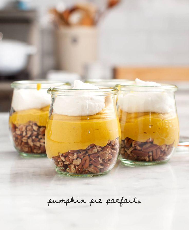 Recipe // Pumpkin Puree + Coconut Milk + Almond Butter + Maple Syrup + Cinnamon + Sea Salt + Vanilla + Cashews + Coconut Solids + Pecans + Coconut Whip