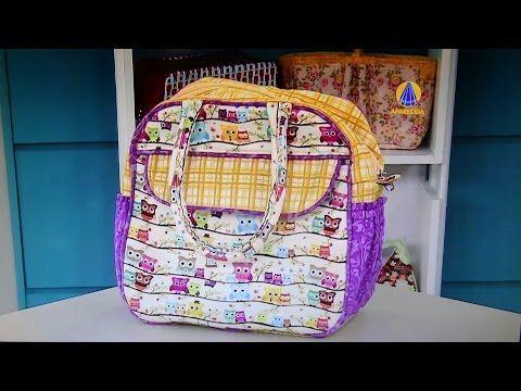 Bolsa em tecidos Porta-marmita do DVD Bolsas com Maria Adna do Maria Adna Ateliê - Aula de bolsas - YouTube