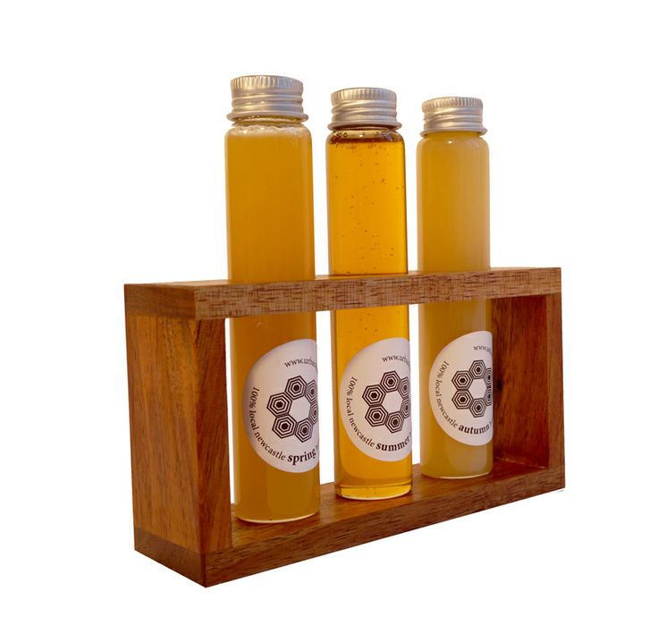 Honey Tester Tube rack.