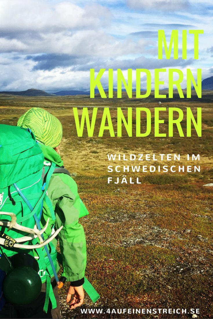 Zelten in der schwedischen Wildnis ist gerade für Kinder ein ganz besonderes Erlebnis. Wir haben es ausprobiert und würden es jederzeit wieder machen!