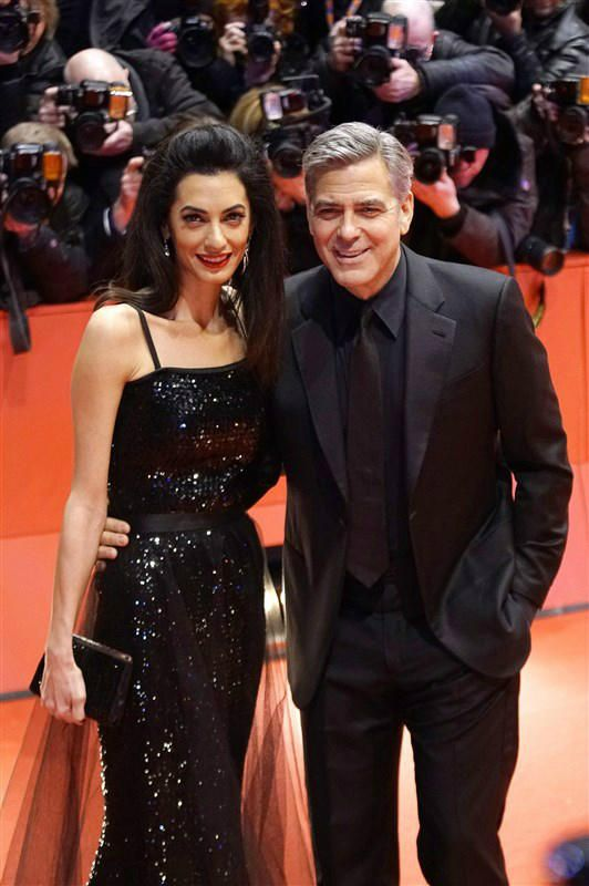 Amal Clooney and George Clooney - George and Amal Clooney celebrate 2 years, the latest on Brangelina plus more romance updates