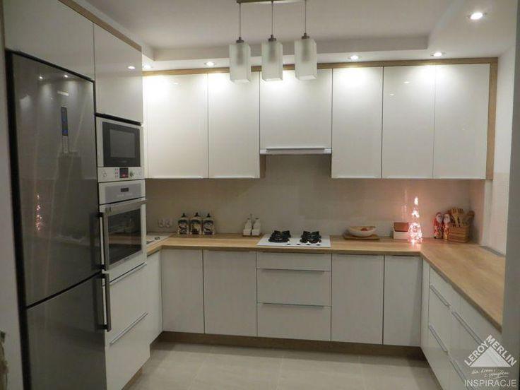 Moja kuchnia...i biała i praktyczna - Kuchnia i jadalnia - Forum i Wasze Wnętrza Leroy Merlin
