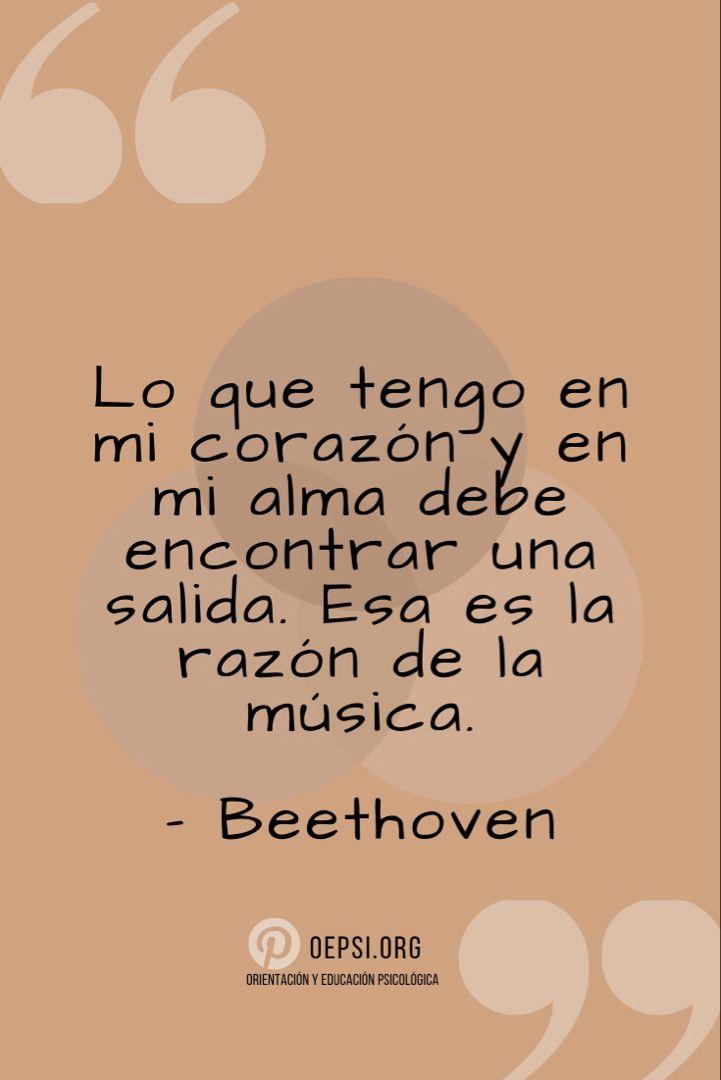 Las Emociones Son Estimuladas Por La Música Frases De Musica Emociones Musica
