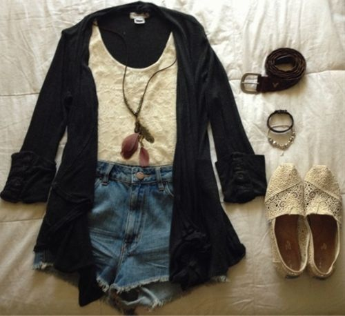 high waisted shorts outfit Decalz