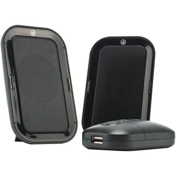 Digital Innovations 4330300 AcoustiX Portable Speaker System 2.0 USB Travel Speakers