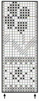 flower-jacquard-knitting-chart