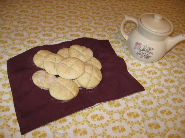Nov. 30th, Catholic Cuisine: Scones for St. Andrew's Day...might be the same ones I made a few years ago