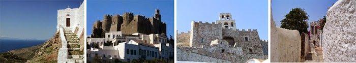 Die zum UNESCO-Welterbe gehörenden griechischen Denkmäler: Das Kloster vom Theologen St. Johannes, die Höhle der Apocalypse und die Chora auf Patmos