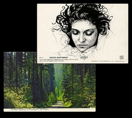 Paul Willoughby's Twin Peaks Postcards - Laura Palmer