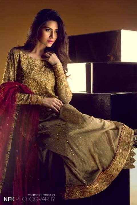 Sania Maskatiya Bridal Wear Dresses 2013 for Women