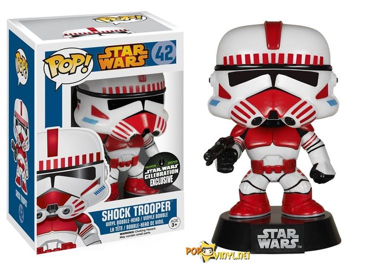 Shock Trooper Funko recently announced that they will be exhibiting at the Star Wars Celebration 2015 held in Anaheim, CA.