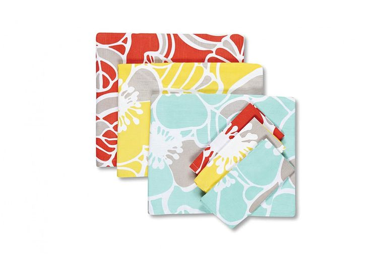 Cabana Hibiscus Napkin Set of 4 | Super A-Mart #superamartpin2win