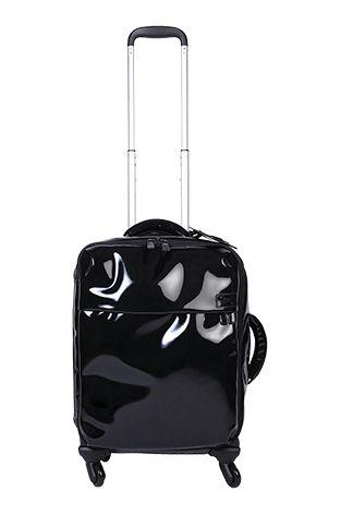 Lipault - Plume Vinyle Valise Cabine 4 Roues 55cm {en Noir}