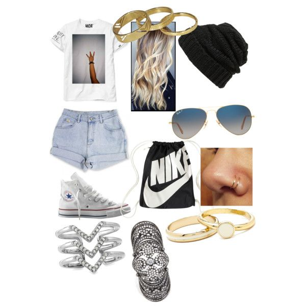 A fashion look from January 2015 featuring Converse sneakers, NIKE handbags and BCBGMAXAZRIA rings. Browse and shop related looks.