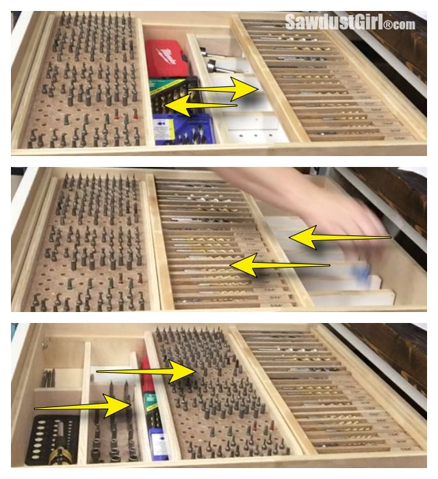 I've shared FIVE different organization projects with you that have all taken place in this one Multi Function Modular Storage Organizer Drawer. That's a lot of function in a little sp…