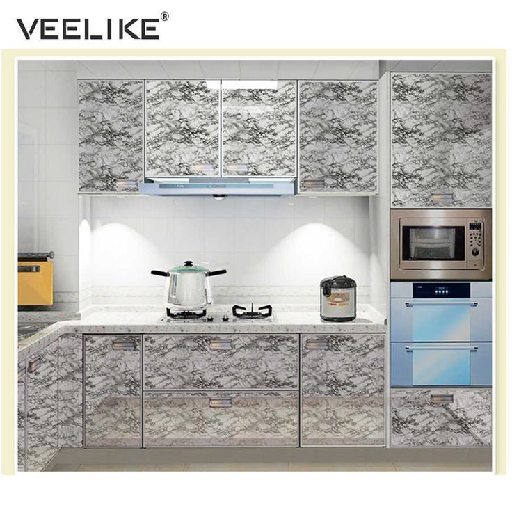 Vinyl Granite Marble Contact Paper For Kitchen Countertops Self Adhesive Wallpaper For Wallpaper For Kitchen Cabinets Kitchen Wallpaper Kitchen Cabinet Shelves