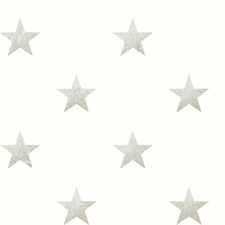 Papel Pintado Estrellas Piedra de bebe COORDONNÉ   Papel Pintado Infantil para bebes