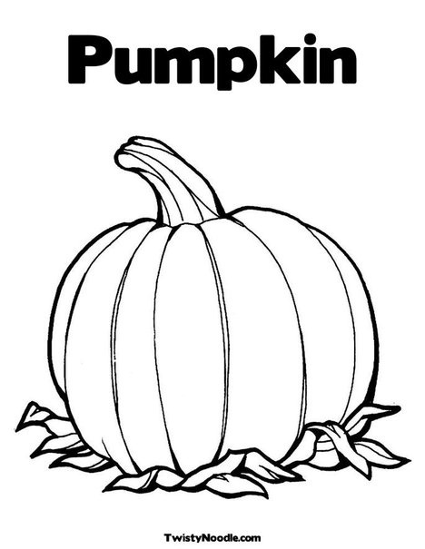 faceless pumpkin coloring pages - photo#6