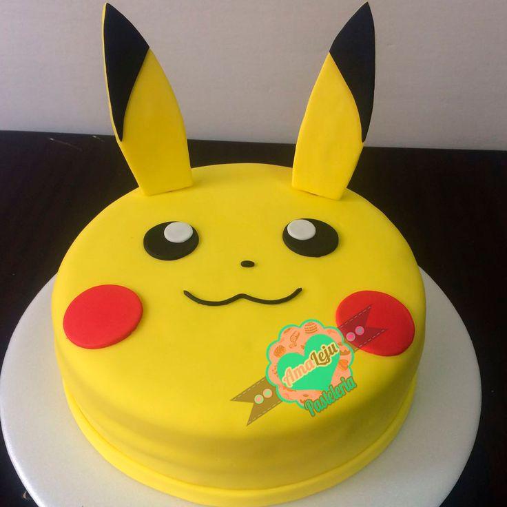 Torta Pikachu Personaliza tu torta como quieras! Realiza tu pedido por; https://goo.gl/mvYBYv WhatsApp: 3058556189, fijo 8374484  correo info@amaleju.com.co Síguenos en Twitter: @amaleju / Instagram: AmaLeju