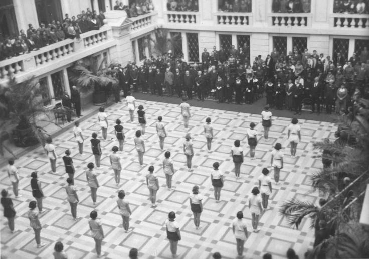 Sport at University of Debrecen in 1935.
