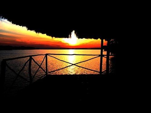El Mirador, sobre la laguna Carimagua, Llanos orientales de Colombia