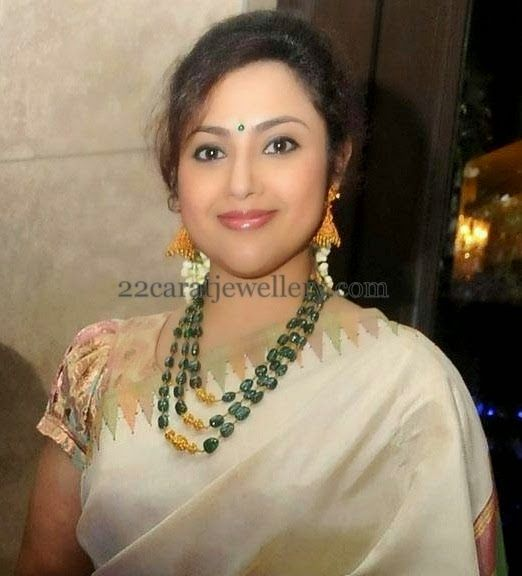 Meena Emerals Long Set | Jewellery Designs