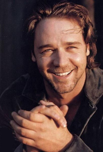 Russell I picture looking like a young Russell Crowe - before he got...well, a little paunchy. (No offense, Mr. Crowe!) :)