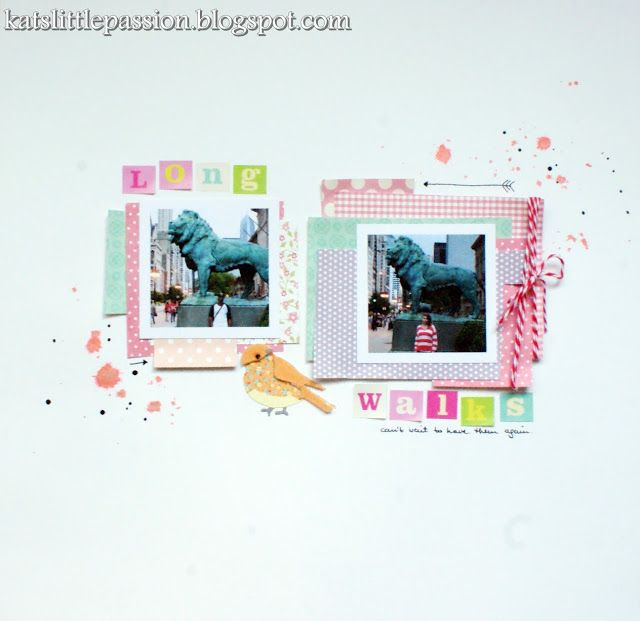 #scrpabooking #layout #chicago  katslittlepassion.blogspot.com