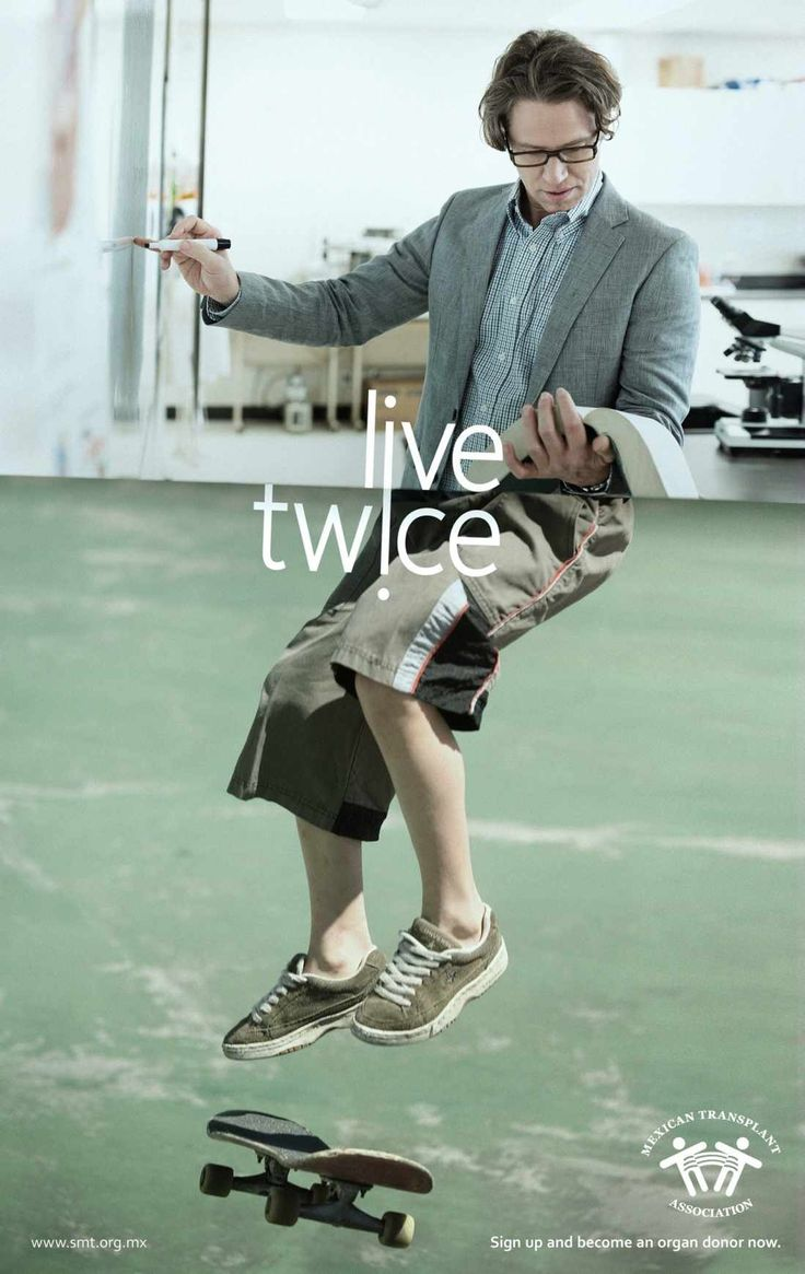 Mexican Transplant Association: Live twice Advertising Agency: Publicis, Mexico City