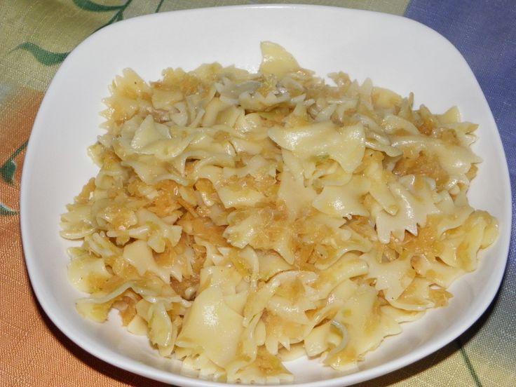 Gyermekkorom ízei: Káposztás tészta